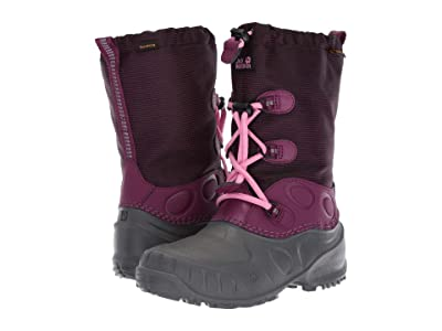 Jack Wolfskin Kids Iceland Waterproof High (Toddler/Little Kid/Big Kid) (Dark Orchid) Kids Shoes