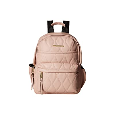 Steve Madden Bforce Quilted Backpack (Blush) Backpack Bags