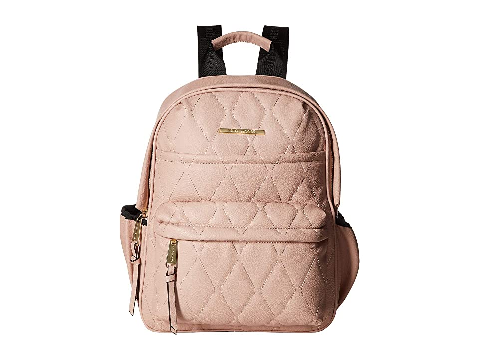 Steve Madden Bforce Quilted Backpack (Blush) Backpack Bags