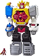 Playskool Heroes Power Rangers Power Morphin Megazord, 2-in-1 Converting Playset, 2-Foot Megazord with Lights & Sounds, Kids Ages 3 & Up