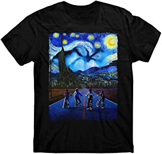 Stranger Things T-Shirt, Starry Night T-Shirt, Demogorgon, E