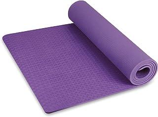 AGQZ 5MM 8MM Tapis de Yoga en Caoutchouc Naturel en li/ège antid/érapant pour Fitness Femmes Pilates Tapis de Gymnastique Marque Yoga Tapis dexercice Tapis de Sport 6MM