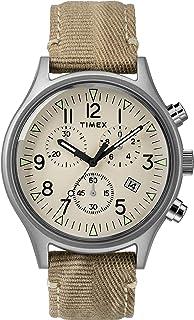 Timex Reloj Analógico para Hombre de Cuarzo con Correa en Tela 0753048758463