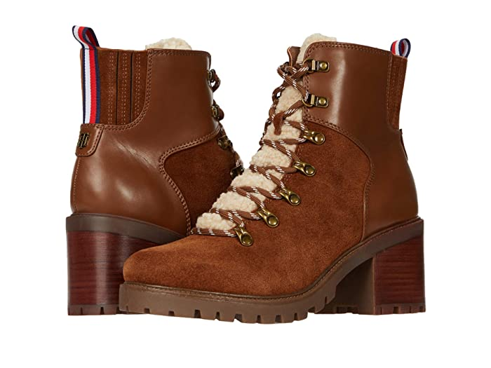 Vintage Boots- Buy Winter Retro Boots Tommy Hilfiger Lamere Tobacco Womens Boots $139.00 AT vintagedancer.com