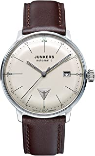 Junkers Bauhaus Swiss ETA Automatic Watch with Domed Hesalite Crystal 6050-5