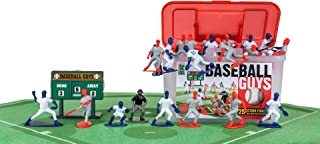 Kaskey Kids Baseball Guys - Red/Blue Inspires Kids Imaginations with Endless Hours of Creative, Open-Ended Play – Includes 2 Teams & accessories – 27 pieces in every set!