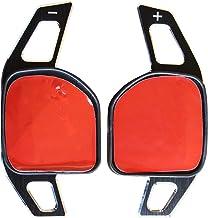 LED-Mafia 2X - Palancas de Cambio DSG - Extensión Shift Paddle - Aluminio Cepillado - Circuito 1a