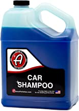 Adam's Car Wash Shampoo -pH Neutral Soap Formula for Safe, Spot Free Cleaning - Thick, Luxurious Suds That Always Rinses Clean - Ultra Slick Formula That Wont Scratch or Leave Water Spots (1 Gallon)