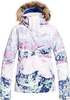 Roxy Women's Jet Ski SE-Snow Jacket, Bright White pyrennes