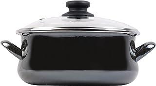 Magefesa Glass Cacerola, Negro Cristal