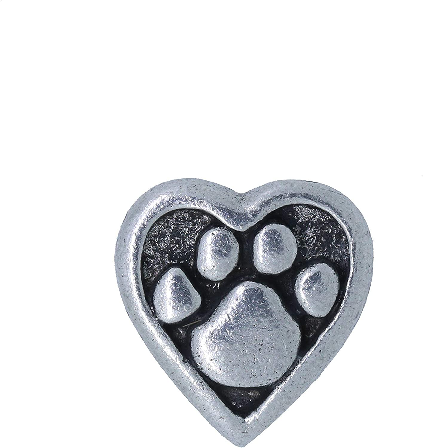 Jim Clift Design Heart and Paw Lapel Pin