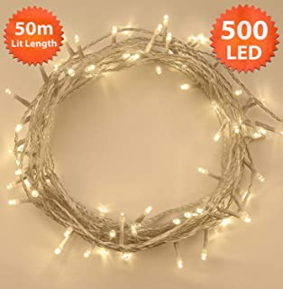Best candlelight clear led christmas tree lights Reviews