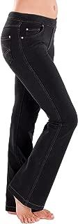 PajamaJeans Women's Tall Bootcut Stretch Knit Denim Jeans