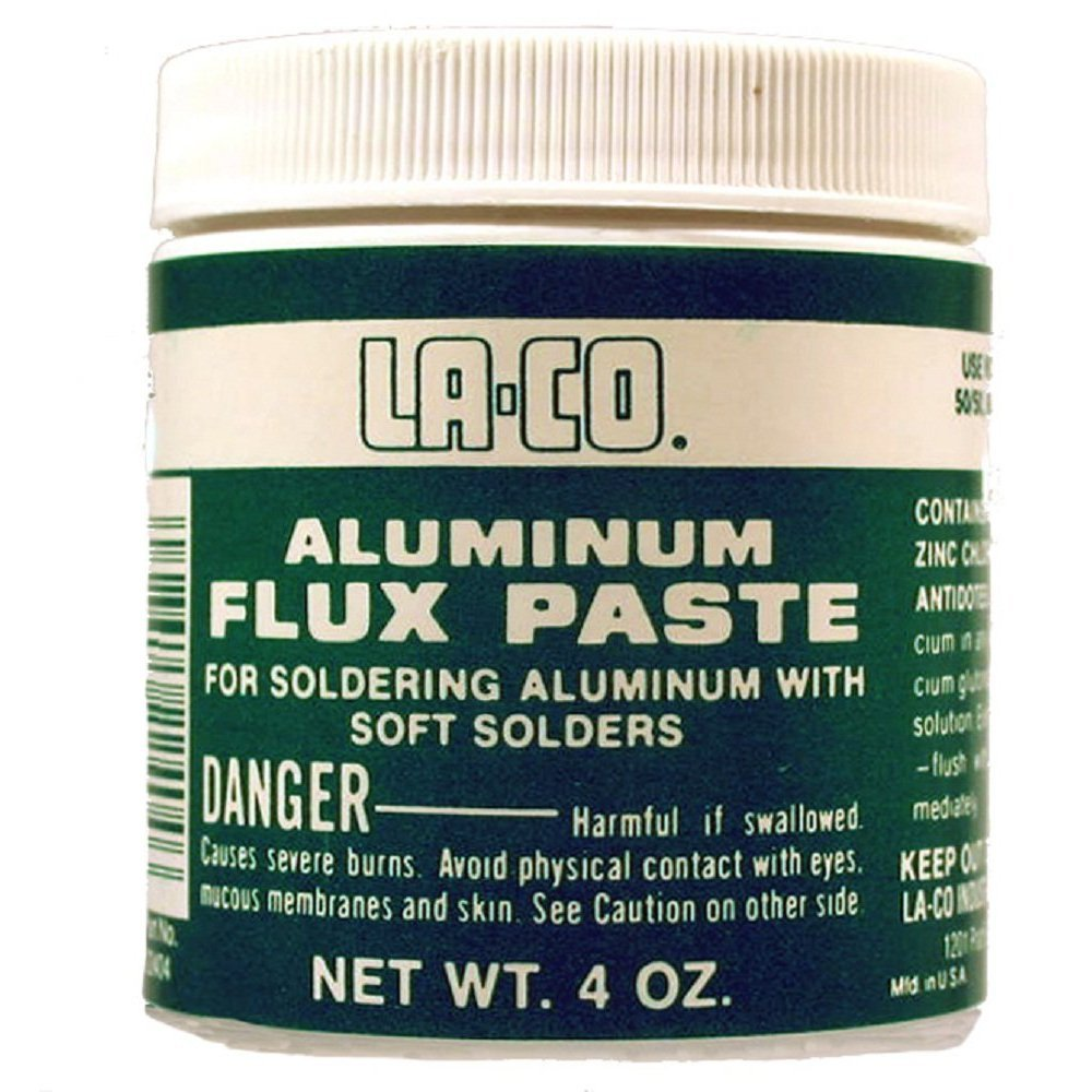 trend rank LA-CO Aluminum Flux Finally resale start 1lbs Paste
