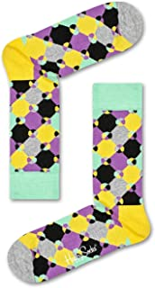 Happy Socks Men's Diamond Dot Sock, Multicoloured, 41-46