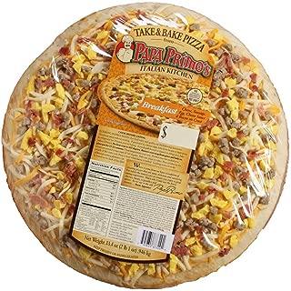 Papas Primos Large Breakfast Pizza, 33.4 Ounce -- 6 per case.