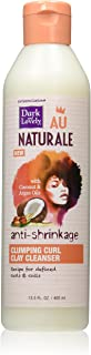 Curly Hair Products by SoftSheen-Carson Dark and Lovely Au Naturale Clumping Curl Clay Cleanser, with Argan Oil and Coconut Oil, for Curls and Coils, Paraben Free, 14.4 oz