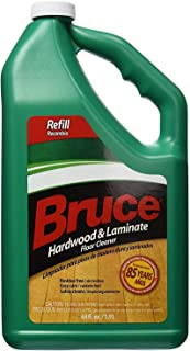 Bruce Hardwood and Laminate Floor Cleaner for All No-Wax Urethane Finished Floors Refill 64oz - Pack of 3