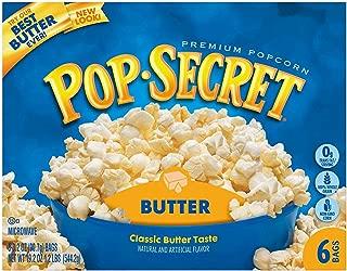 Pop Secret Microwave Popcorn, Butter, 6 Count (Pack of 6)