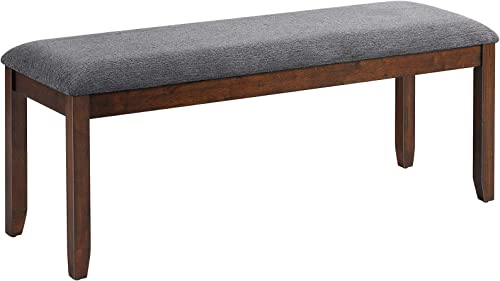lowest Giantex Dining Room Bench, Wood Kitchen Table Bench with Upholstered, lowest Entryway Bench, Bedroom Bench for End of Bed, 47.5 x lowest 15.5 x 19.5 Inches Ottoman Bench, Indoor Bench Rubber Bench Seat (1) online