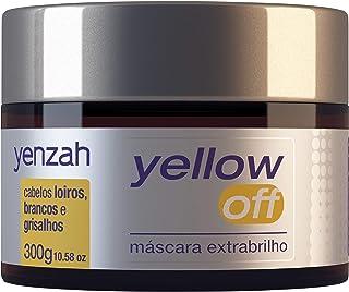 Máscara Extra Brilho Yellow Off, Yenzah, Branco