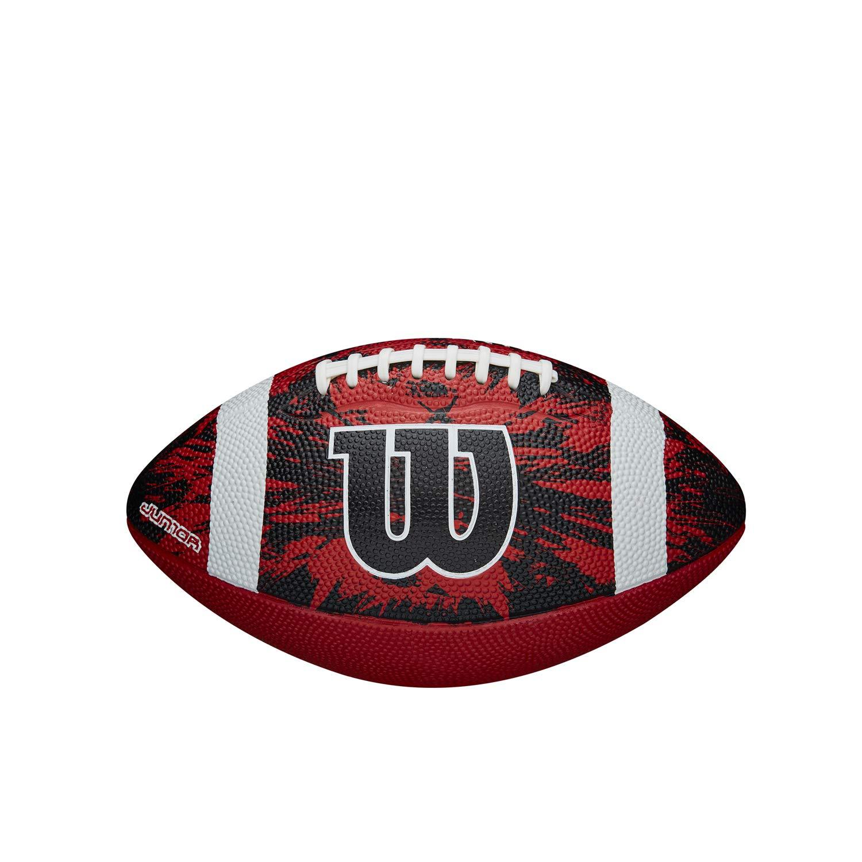 Wilson WTF1592XB Balón de Fútbol Americano, deep Threat Red/Black ...
