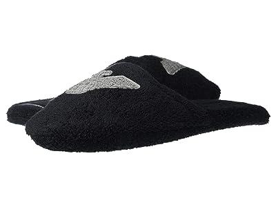 Emporio Armani Sponge Slippers (Black) Men
