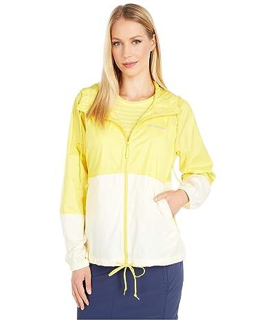Columbia Flash Forwardtm Windbreaker (Buttercup/Pale Yellow) Women