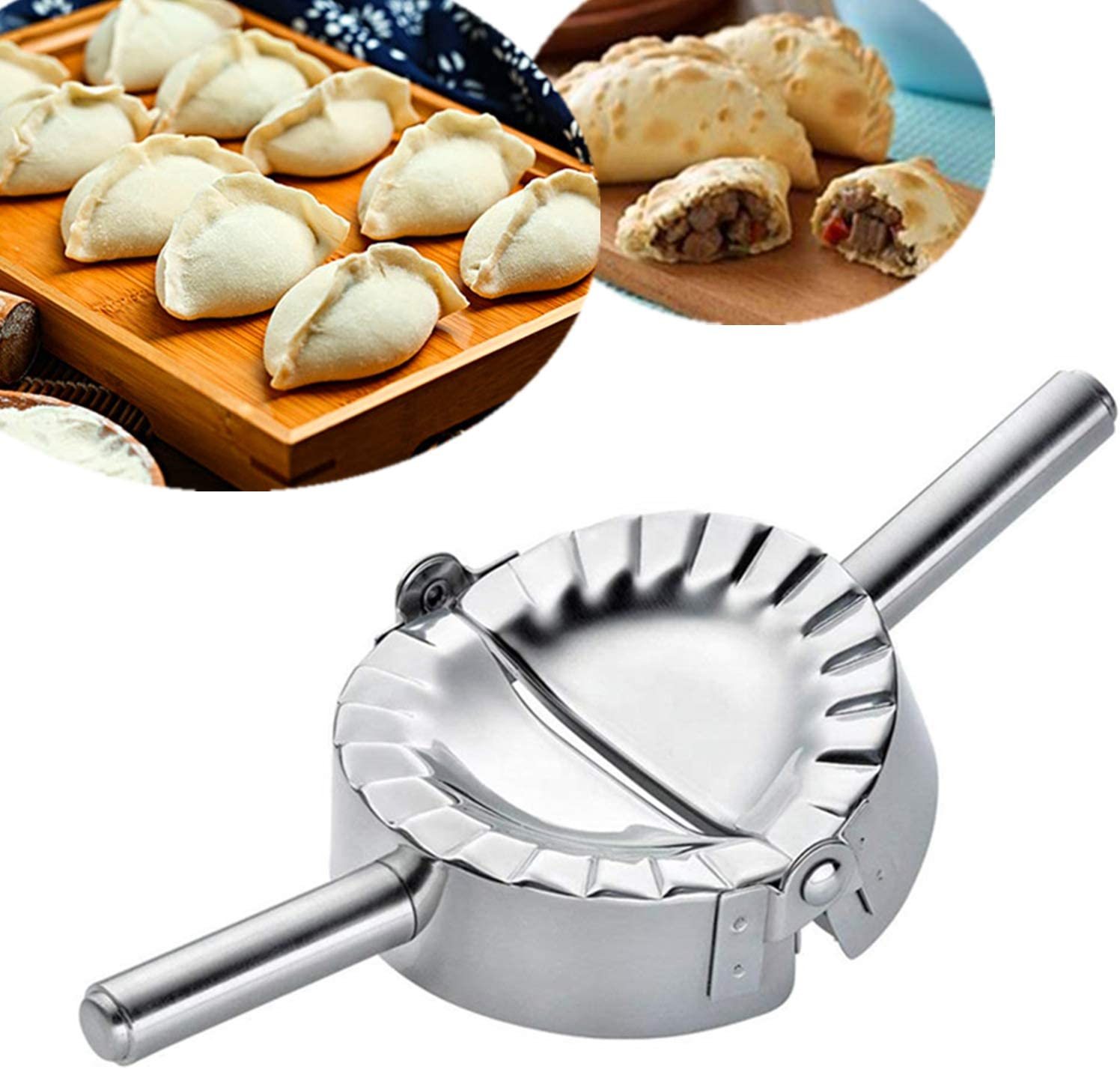 HLYCare Stainless Max 58% OFF Steel Ravioli Mold Dumpling X-La Pierogi Time sale Maker