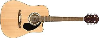 Fender FA-125CE Acoustic Guitar, Walnut Fingerboard, Natural