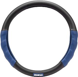 Lenkradhülle Sparco schwarz/blau