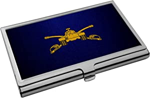 Business Card Holder - US Army Armor, Branch Insignia