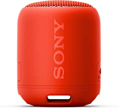 Sony SRS-XB12 Extra Bass Portable Bluetooth Speaker, Red (SRSXB12/R)
