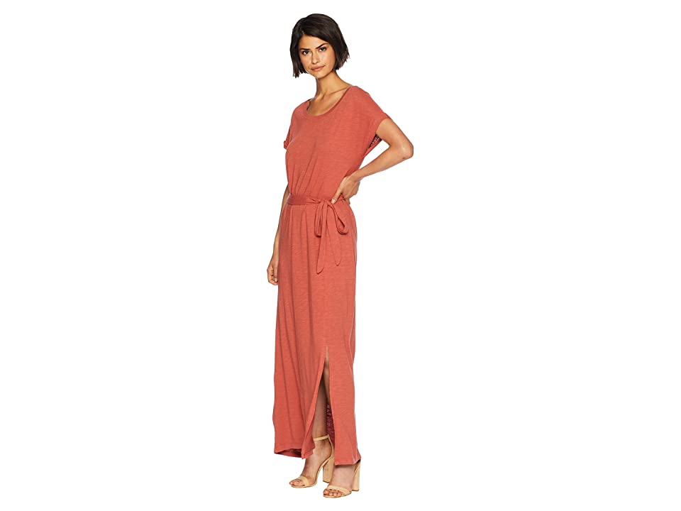 Sanctuary Isle T-Shirt Maxi Dress (Terracotta) Women