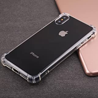 iPhone 10 iPhone X Silicone Soft TPU Quality Ultra Thin Clear Transparent Cell Phone Case for iPhone 10