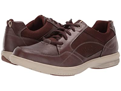 Nunn Bush Kore Walk Moc Toe Oxford (Brown) Men