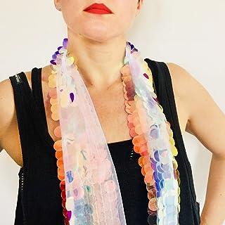 Sueños de unicornio pañuelo - Millie Bobby Brown pañuelo Coachella - Bufanda boho - Chal mujer - Festival ropa Boho - Rega...