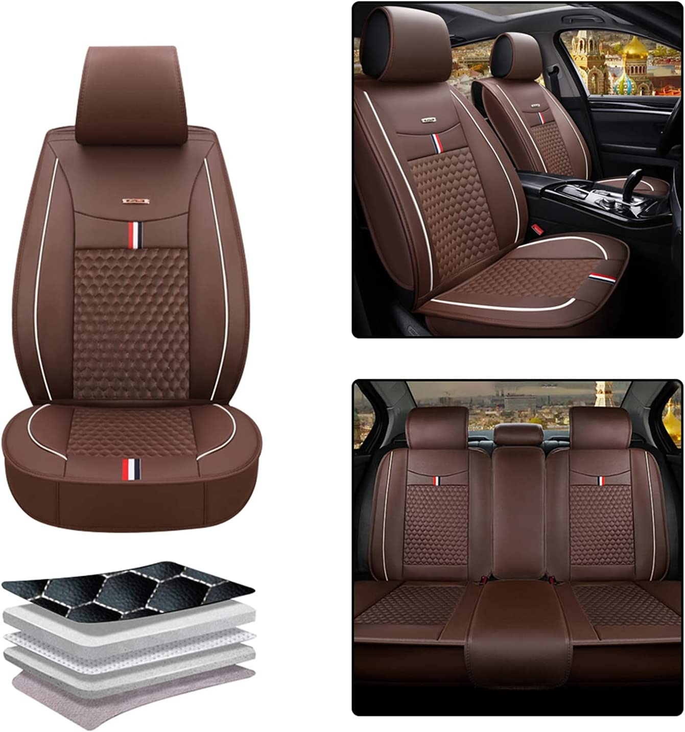 Car Tulsa Mall Popularity Seat Cover for Jaguar X-Type X Rear Aut 2002-2012 Front Type