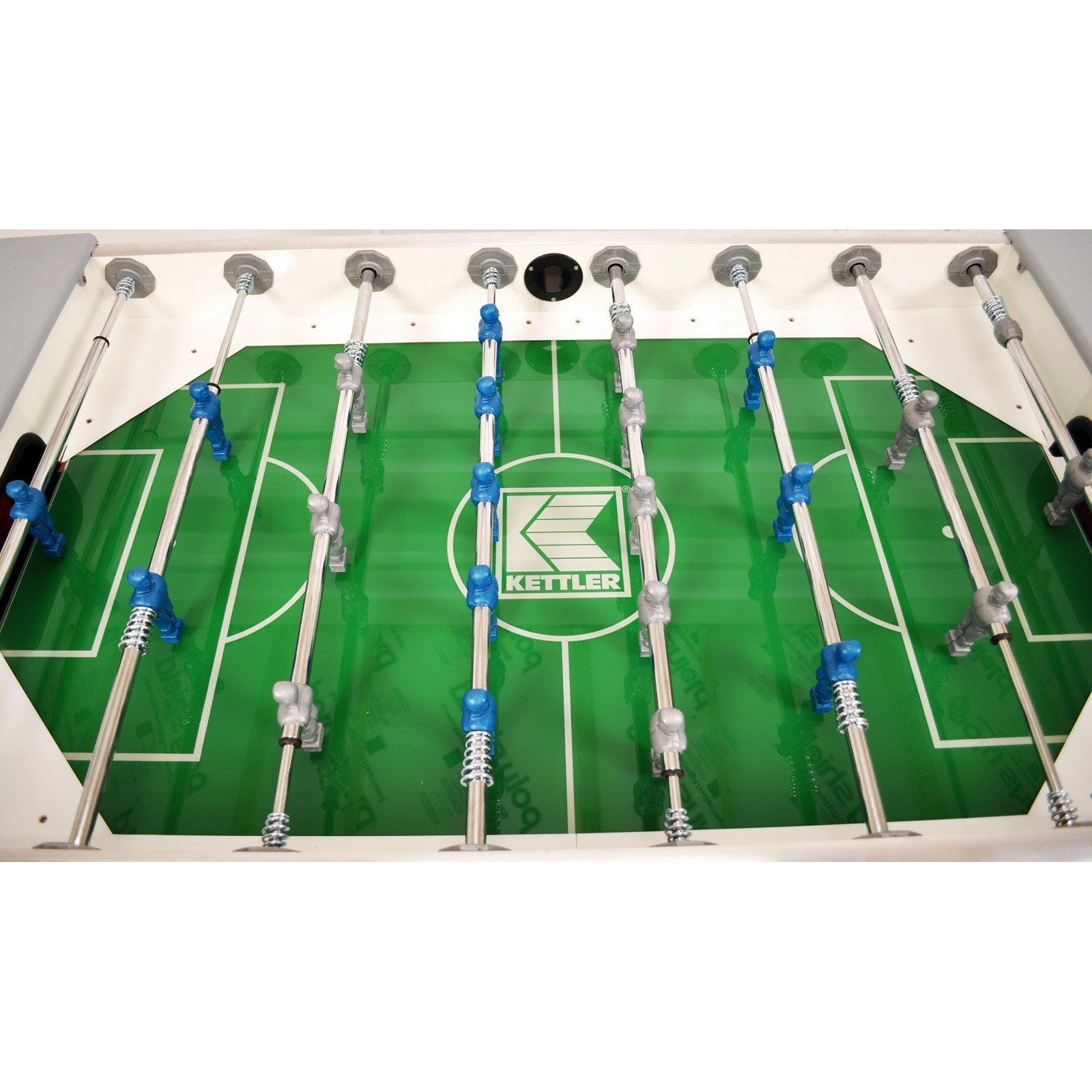 2. Kettler Weatherproof Outdoor/Indoor Soccer/Foosball Game Table