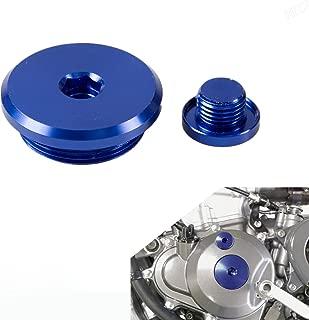 NICECNC Engine Plug Crankcase Cover Plug for Yamaha GRIZZLY 700/550 2007-2011/2009 2010 2011,RAPTOR 700R 11-12,RHINO 700 08-11,YZ450F/FX,250F/FX,YFZ450X/450R 2010-2016,WR450F/250F