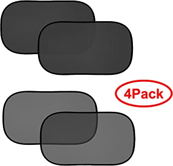 4-Pack FIRSFOR Car Sun Shade for UV Rays Protection