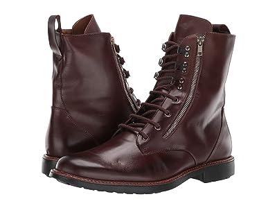 Massimo Matteo Side Zip Boot (Cafe) Men