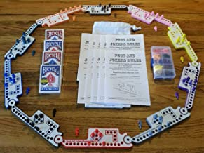 Pegs and Jokers Travel Size Compact Game Set (2-10 Players)