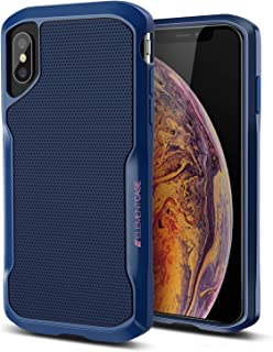 iPhone XR Case, Shadow - Military Drop Tested Heavy Duty Protection Shockproof Fit Full Body Protective Cover for Element Case iPhone Xr Cases - Blue(EMT-322-192D-02)