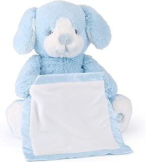 Spin Master Peek a Boo Puppy Animated Stuffed Animal Plush, Blue, 10
