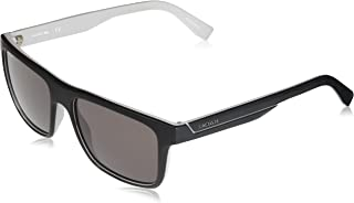 9874f88e602 Óculos de Sol Lacoste L876s 002 57 Preto Fosco cinza