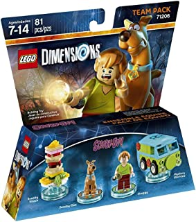 scooby doo pack lego dimensions