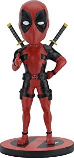 NECA Marvel Head Knocker Deadpool Classic Toy
