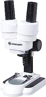 Bresser Junior Stereo 3D Mikroskop ICD-Pro mit 20x und 50x Vergrößerung für Kinder und..