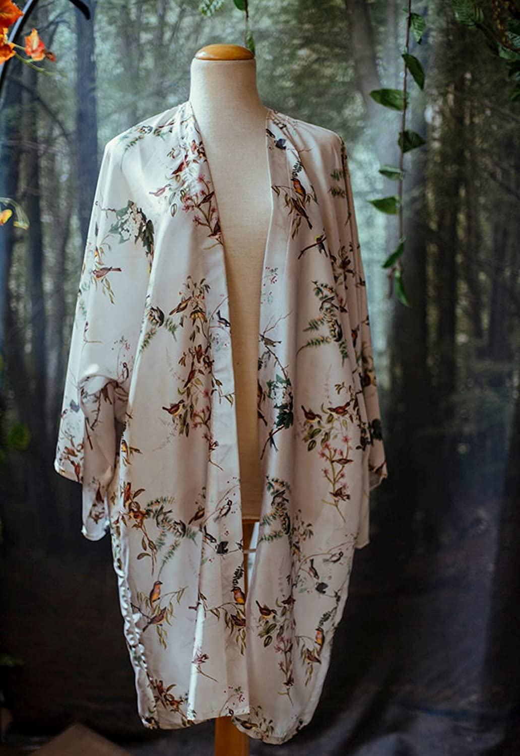 Birds Forest witch jacket Inexpensive kimono New Shipping Free Shipping vintage